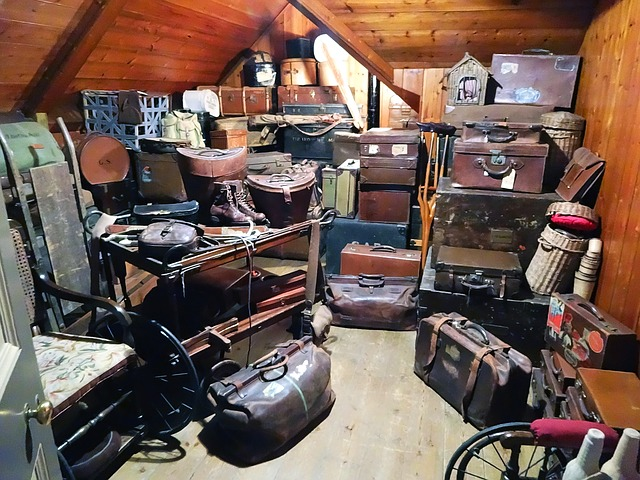 Get rid of all large and unnecessary belongings